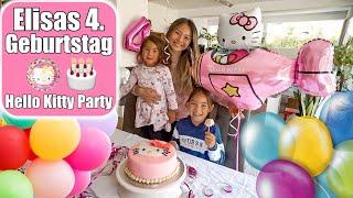 Elisas 4. Geburtstag 🎂 Strahlende Augen & Geschenke Auspacken! Hello Kitty Party Torte | Mamiseelen
