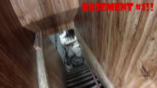 ABANDONED HOUSE WITH 2 BASEMENTS!!!