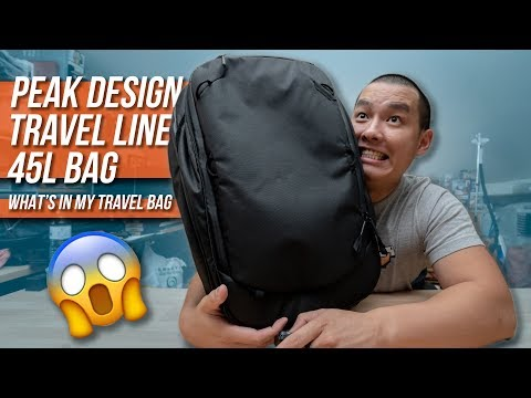 What's In My Travel Bag Ep. 5 – Peak Design Travel Line 45L Backpack Review