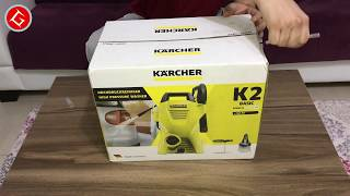 Karcher K2 + Car Kit Evde Araç Yıkama Makinesi