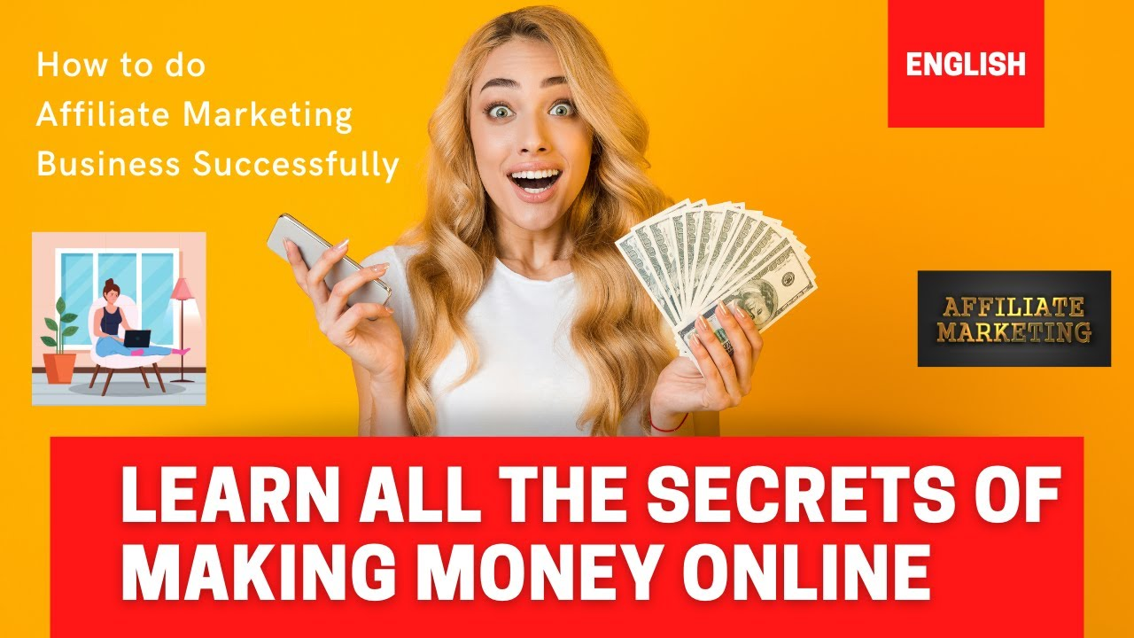 Affiliate Marketing I Earn Money Online I Work from House I Find out How to make 1 Lakh monthly