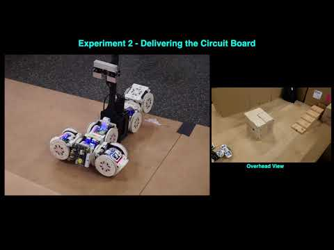 Shape shifting modular robot