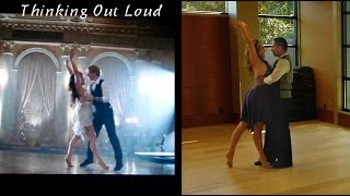 Ed Sheeran's THINKING OUT LOUD – Dance Tutorial Part 1 (to official music video)