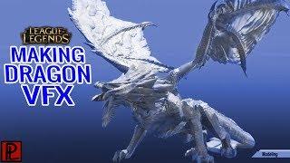 Making of League of Legend AR Elder Dragon VFX