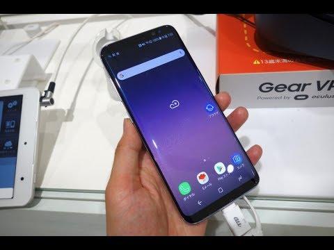 Unlock Samsung Galaxy S8 SCV36 Au KDDI Japan - смотреть