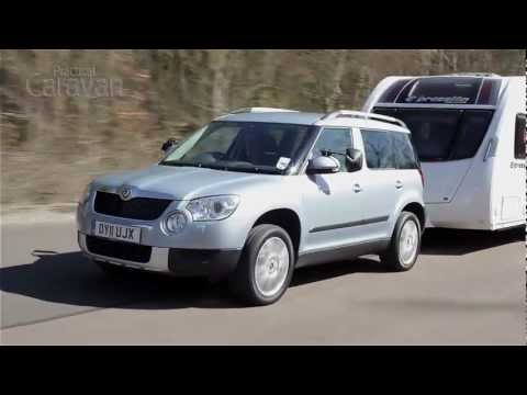 Practical Caravan reviews the Skoda Yeti