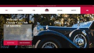 Classic Car Club of America - Website Announcement