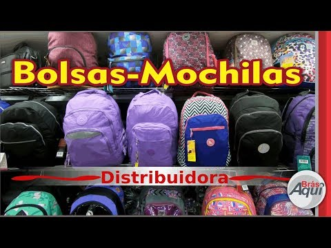 Distribuidora BOLSAS mochilas e MALAS no BRÁS adulto INFANTIL