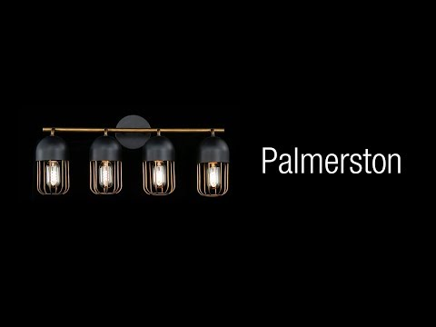 Video for Palmerston Black One-Light Wall Sconce