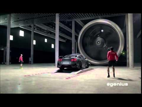 Nissan  Gt R Купе класса A - рекламное видео 2