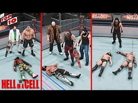 WWE Top 10 Hell In A Cell 2019 Predictions! (WWE 2K19)