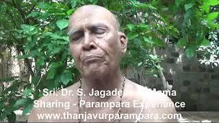 Sri. Dr.S. Jagadeesan Mama sharing hisParampara experience