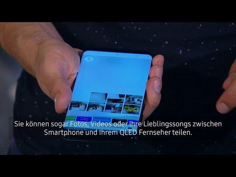 Der Smart Hub - Samsung QLED TV