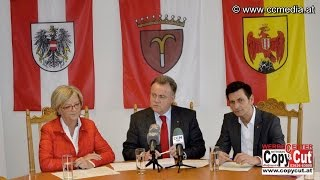 preview picture of video '20. 3. 2015 - PK der SPÖ - Pendleroffensive Mattersburg - CCM-TV.at'