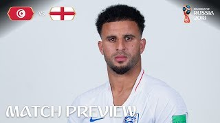 Kyle Walker (England) - Match 14 Preview - 2018 FIFA World Cup™
