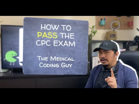 HOW TO PASS THE CPC EXAM (2021) - YouTube