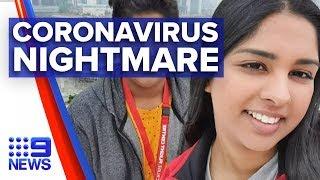 Aussie diagnosed with coronavirus speaks out | Nine News Australia