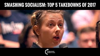 Charlie Kirk Smashes Socialism! Top 5 Takedowns of 2017