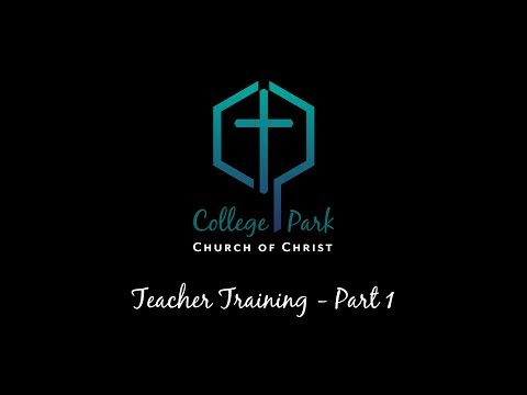 Teacher Training - Part 1 by Jerry Lowry, Timothy Fleming, Ty Fleming