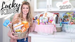WHATS IN MY KIDS EASTER BASKETS 2020 ✝️🐣 DIY BASKETS FOR PRETEENS, TODDLERS, & BABY'S 1ST EASTER!