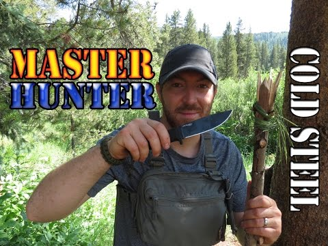 AWESOME! CPM-3V Cold Steel Master Hunter