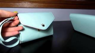 REVIEW: Women Crown Smart Pouch Multi-purpose Wallet Clutch Mobile Phone Case (Large vs Small)