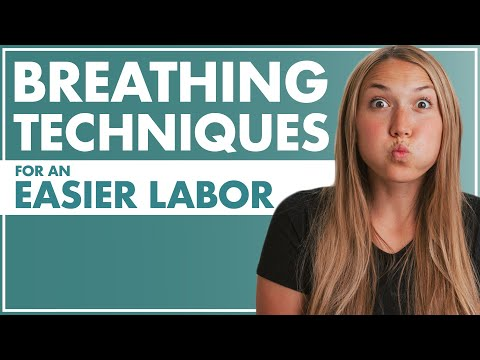 BREATHING Techniques for an EASIER LABOR   How To Breathe During Labor   Birth Doula