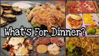 What's For Dinner? Large Family Meals Of The Week