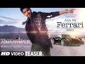 AAJA NA FERRARI MEIN (Song Teaser) | Armaan Malik |  Amaal Mallik | Releasing 10 Feb 2017
