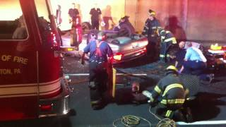 preview picture of video 'Accident Scranton Pa'