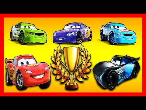 Lightning McQueen Jackson Storm Bobby Swift Brick Yardley Cal Weather (Cars 3 MATCHES)