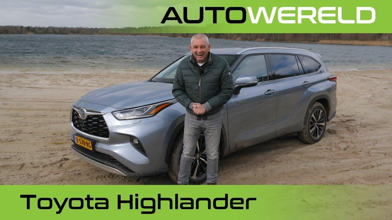 Toyota Highlander (2021) review met Allard Kalff