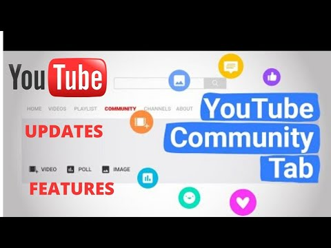 How to post and updated features on YouTube community tab