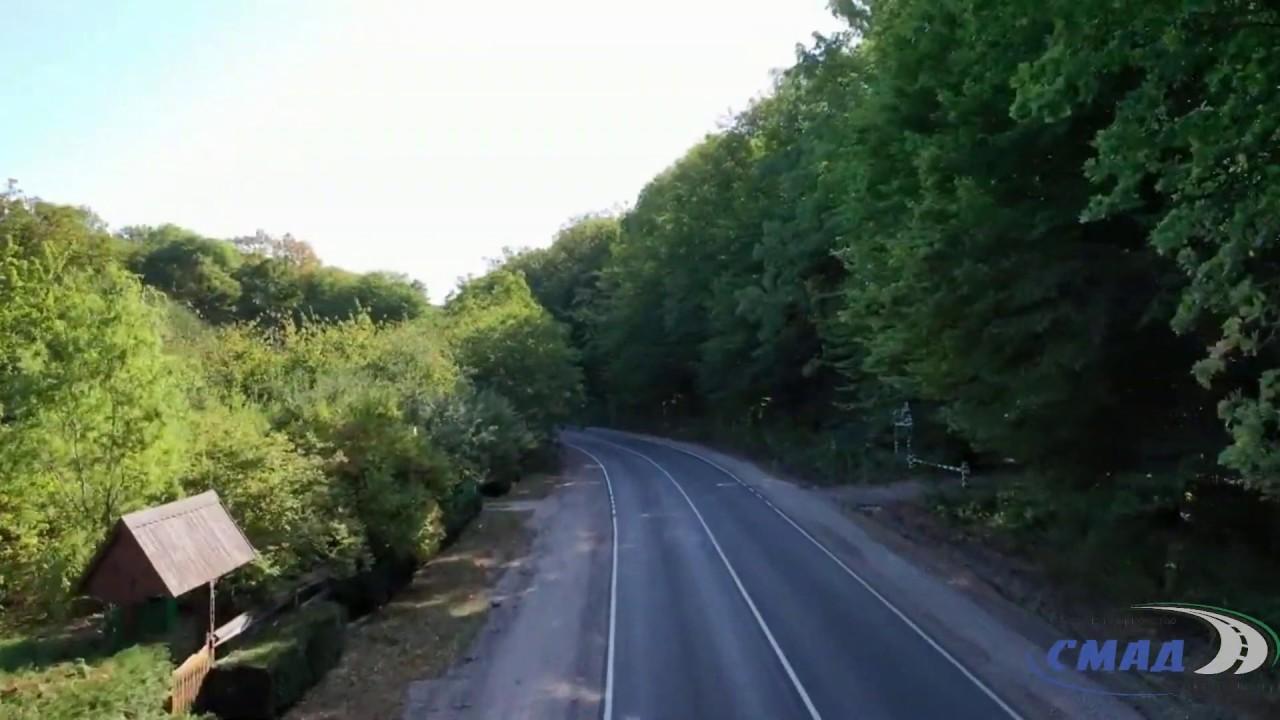 Завершився поточний середній ремонт окремої ділянки автомобільної дороги О-02-03-05 Вороновиця- Тиврів- Шарогород км 42+500 -км 47+300