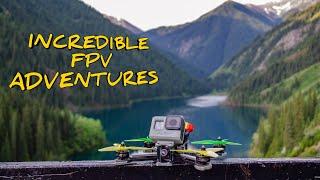 My incredible #fpv adventures
