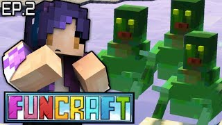 STOP Drowning Me With Hugs!! | FunCraft Minecraft Ep. 2