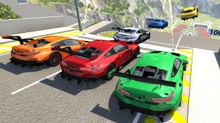 High Speed Jumps/Crashes #48 - BeamNG Drive Crash Testing
