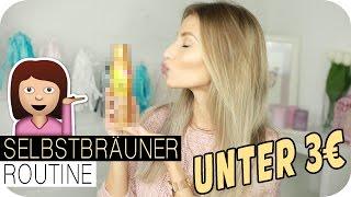 MEIN BRÄUNUNGS GEHEIMNIS - In 2 Stunden UNTER 3€ die perfekte Bräune | AnaJohnson