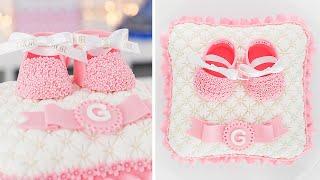 Baby Shower - 3D Pillow Cake - Tan Dulce