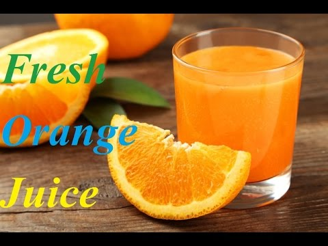 Video Fresh Orange Juice Recipe in HINDI (संतरे जूस)