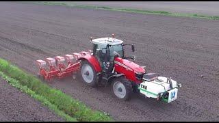 Maize Drilling | *NEW* Massey Ferguson 7715 S Dyna VT | Kverneland | Maize Zaaien | Munsters Deurne