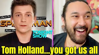 Tom Holland TROLLED THE S**T OUT OF US W/ TITLE REVEAL! (Spider-Man 3 | The Tonight Show | Marvel) by The Reel Rejects