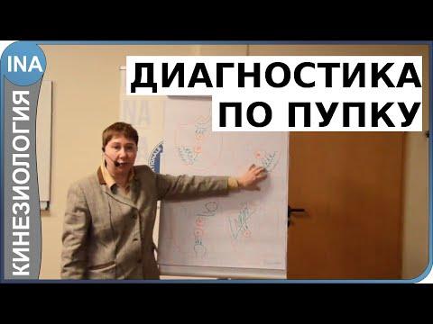 ДИАГНОСТИКА ПО ПУПКУ. Проф. Л.Ф.Васильева. Прикладная кинезиология. Германия