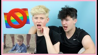 REACTING TO ANTI GAY COMMERCIALS WITH MY BOYFRIEND