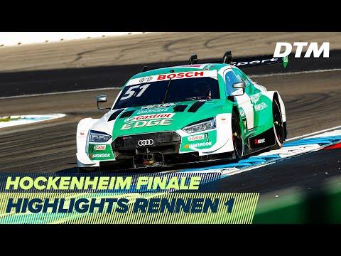 DTM ホッケンハイム(ドイツ) 2020 Rennen1ハイライト動画