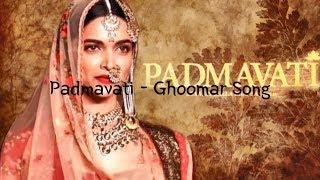 Padmavati Ghoomar Lyrics | Lyric Video - YouTube