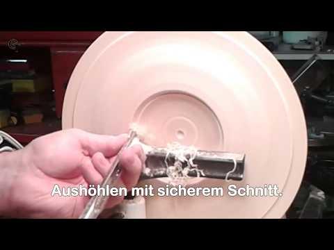 Holzteller Drechseln 2017 HD