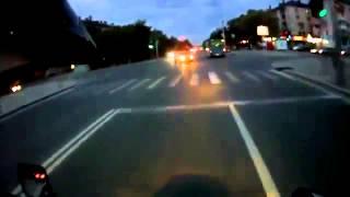 НЕЛЕПАЯ Авария на Мотоцикле  Убийство! ЖЕСТЬ!!!