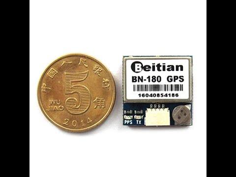 Beitian Smallest Mini Dual GLONASS+GPS BN 180 da Banggood