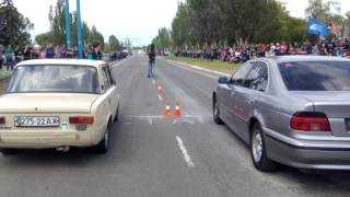 Копейка против BMW. Драг  21.05.17 Снова  первое место)))